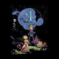 shirt bravest warriors II...