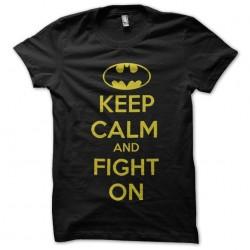 tee shirt batman keep calm...