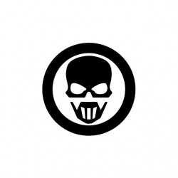 Ghost Recon symbol white...