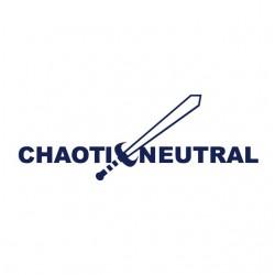 shirt Chaoti Neutral white...
