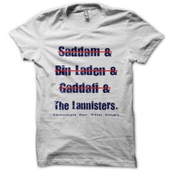 tee shirt les lannisters...