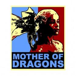 tee shirt Mother of Dragon parodie obama  sublimation