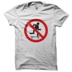 tee shirt no to the white...