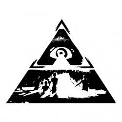 Illuminati white sublimation sign t-shirt