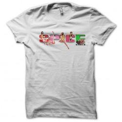tee shirt Spice girls white...