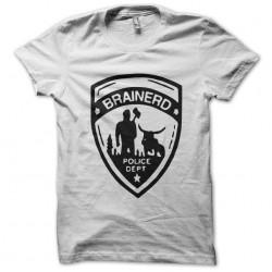 shirt brainerd police dept white sublimation