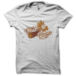 tee shirt Beer bums white sublimation