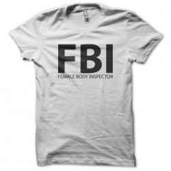 tee shirt FBI female body...