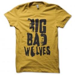 tee shirt big bad wolves...