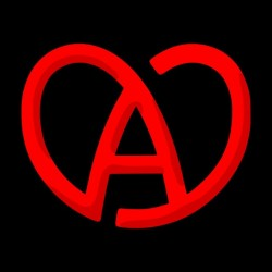 Alsace heart black...