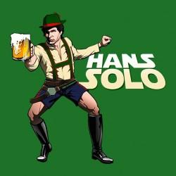 tee shirt Hans solo fete de...