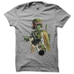 Boba t-shirt in gray...