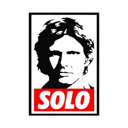 tee shirt Han solo parodie  Obey  sublimation