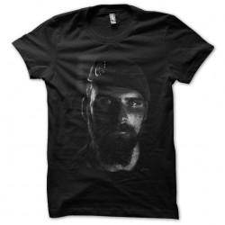 soldier shirt in portrait black sublimation