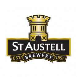 tee shirt st austell brewery logo white sublimation