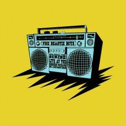tee shirt the Beastie Boys audio yellow sublimation