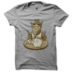 alf t-shirt and the gray...