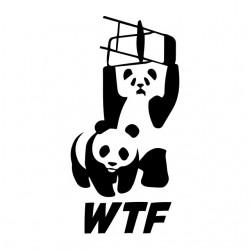 tee shirt wwf panda parody...