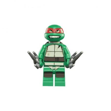 T-shirt Ninja Turtles parody Lego white sublimation
