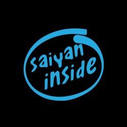 saiyan t-shirt inside black sublimation