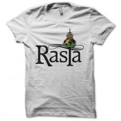 Tee shirt rasta Rastafari symbol  sublimation