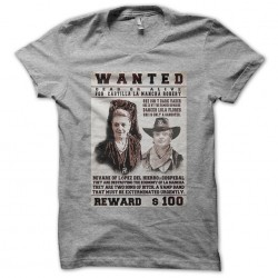 tee shirt Wanted lopez del...
