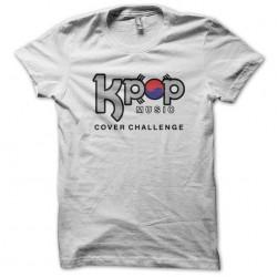 K Pop music t-shirt white...