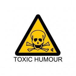 tee shirt toxic humor white...