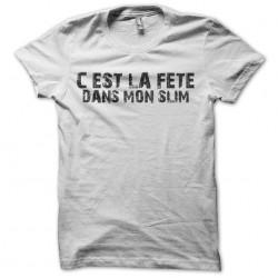 tee shirt fête dans mon...