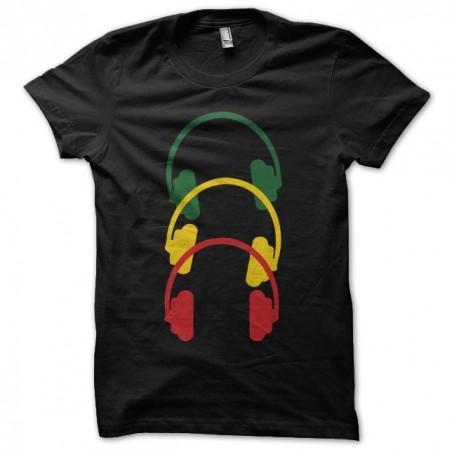 T-shirt rastacouteurs helmet black sublimation