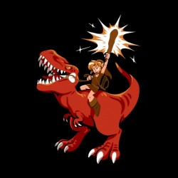 tee shirt link et son dino  sublimation