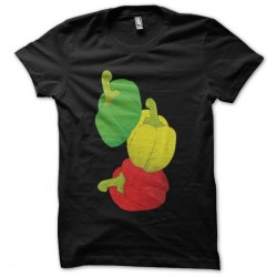 T-shirt rasta black peppers...