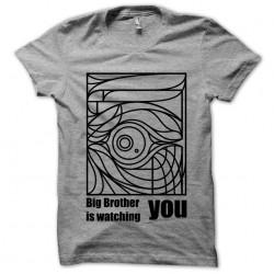 tee shirt Big Brother gray...