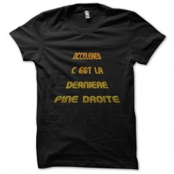 shirt acceleres it's the...