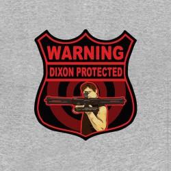 tee shirt daryl dixon target gray sublimation