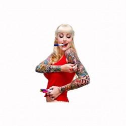 T-shirt tatoo master pin up...