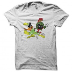 t-shirt duck rodgers white...
