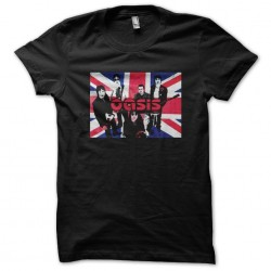 Oasis t-shirt with UK flag...
