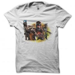 tee shirt les gardiens de la galaxie  sublimation