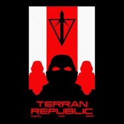 terran republic propaganda t-shirt black sublimation