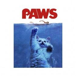 tee shirt Paws parodie jaws...
