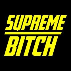 Supreme bitch t-shirt sublimation