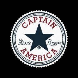 tee shirt Captain America ecusson converse  sublimation