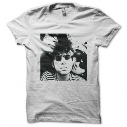Blur white sublimation t-shirt