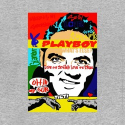 tee shirt affiche playboy sublimation