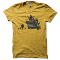 uncharted shirt yellow...