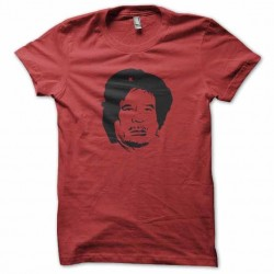 T-shirt che kadhafi red...