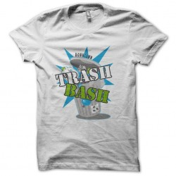 tee shirt  downtown trash bash logo  sublimation