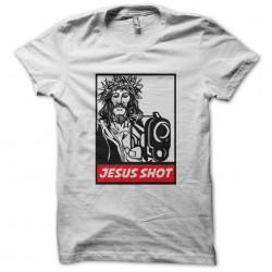tee shirt Jesus Shot  façon...