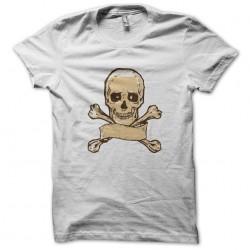 shirt Skull and bone white...